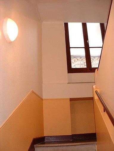 Chesa Peinture - Cages d\'escaliers - Parties Communes